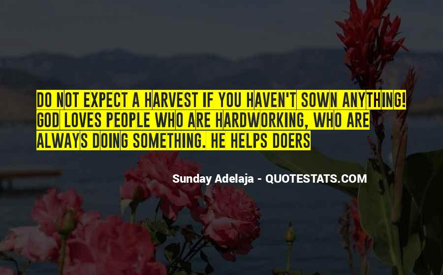 Best Harvest Quotes #39249