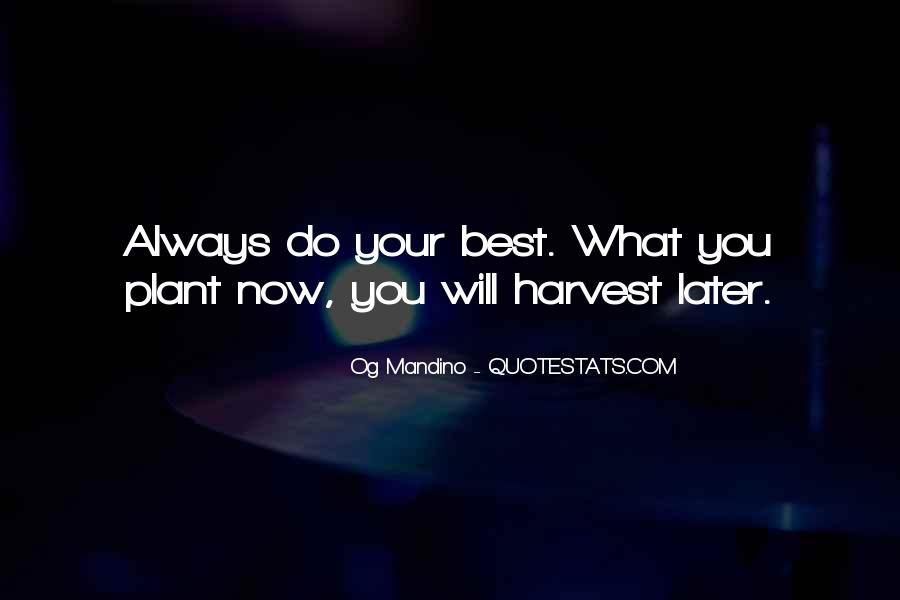 Best Harvest Quotes #480926