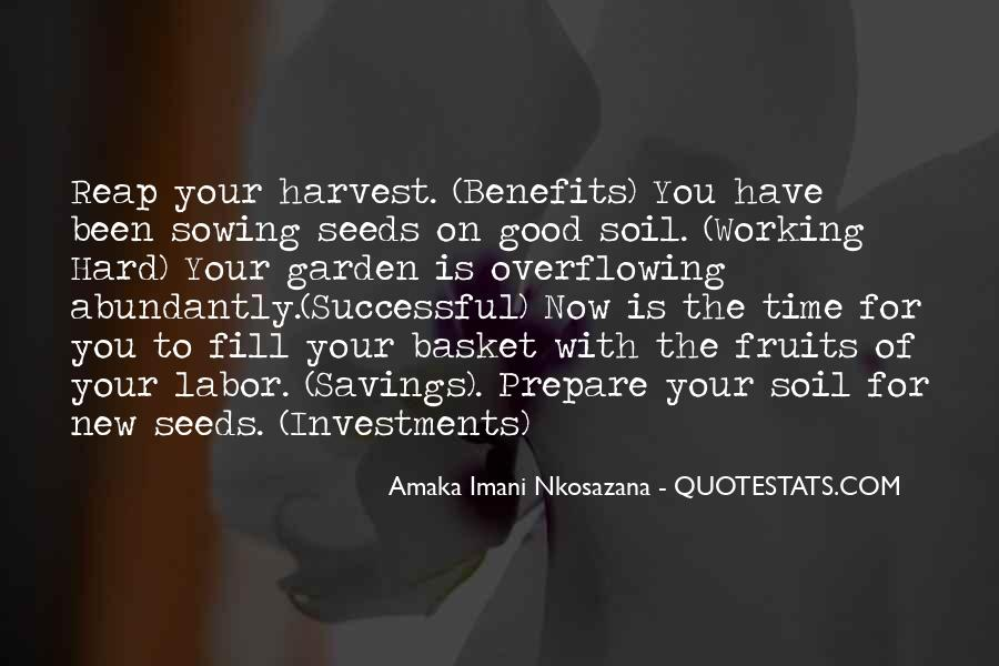 Best Harvest Quotes #51598