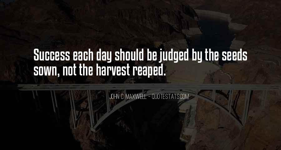 Best Harvest Quotes #84294