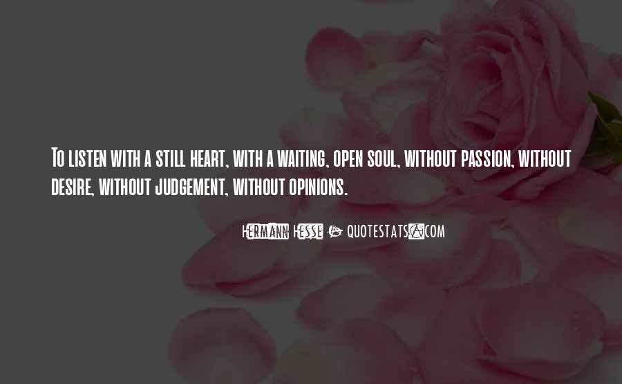 Best Heart And Soul Quotes #11898