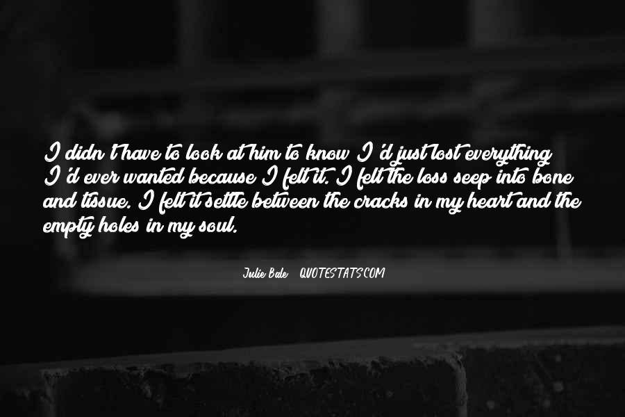 Best Heart And Soul Quotes #33152