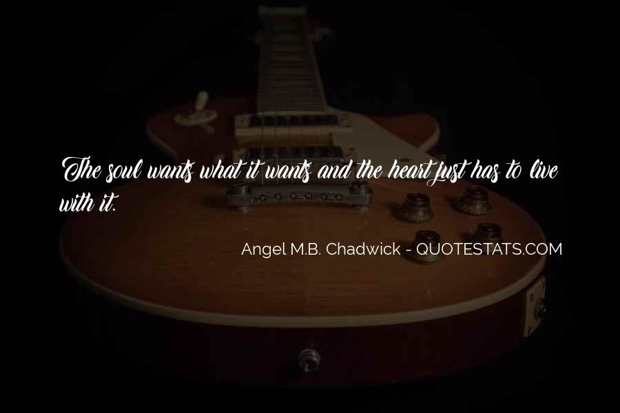 Best Heart And Soul Quotes #36068