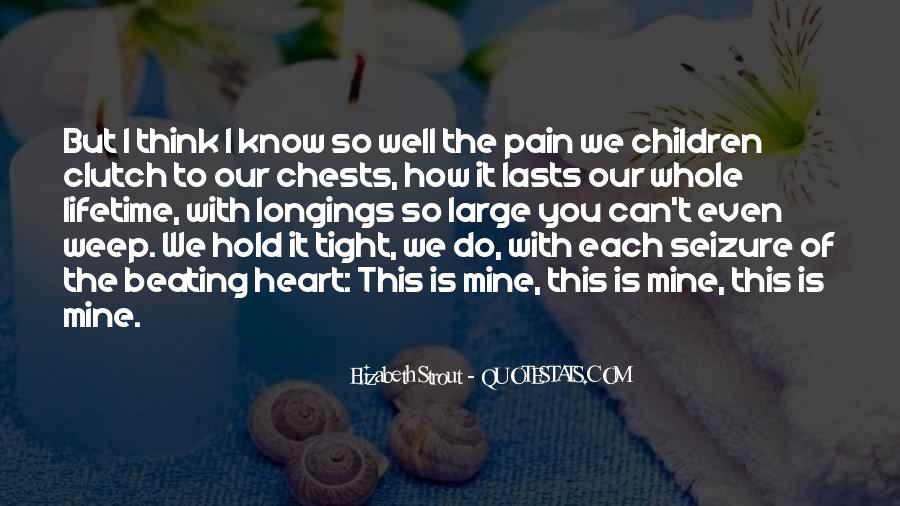 Best Heart Pain Quotes #103921