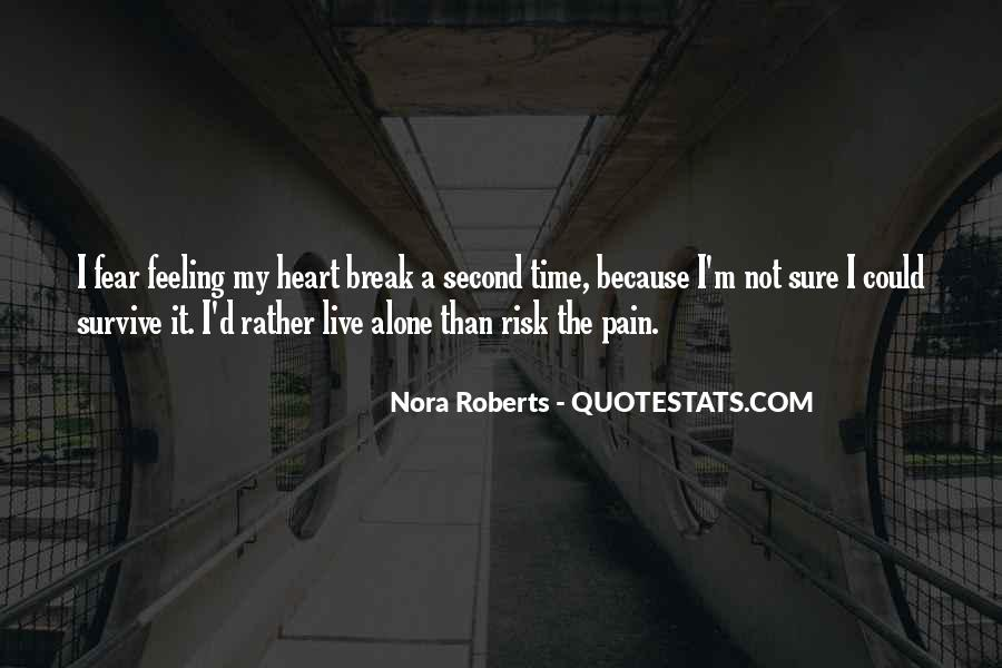 Best Heart Pain Quotes #25233