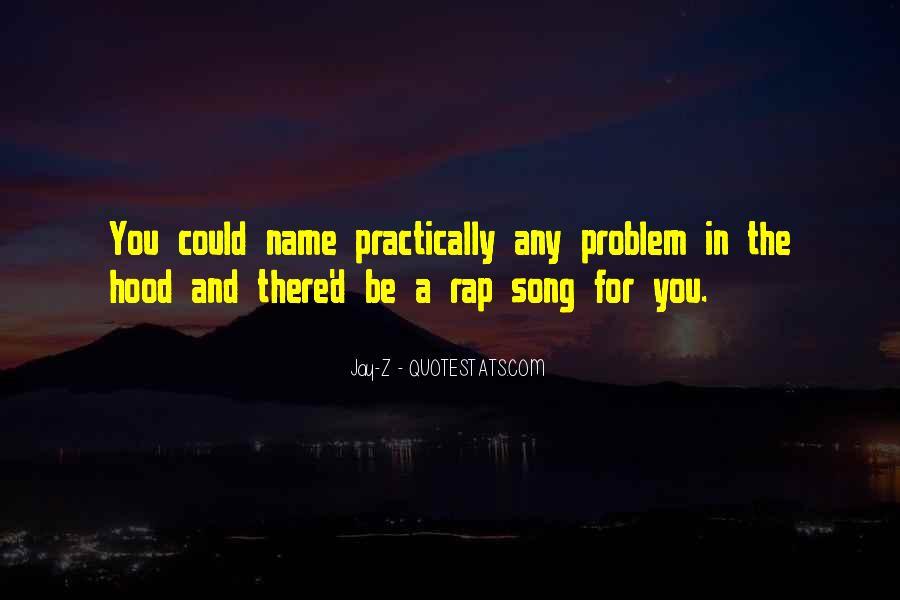 Best Hood Rap Quotes #1754167
