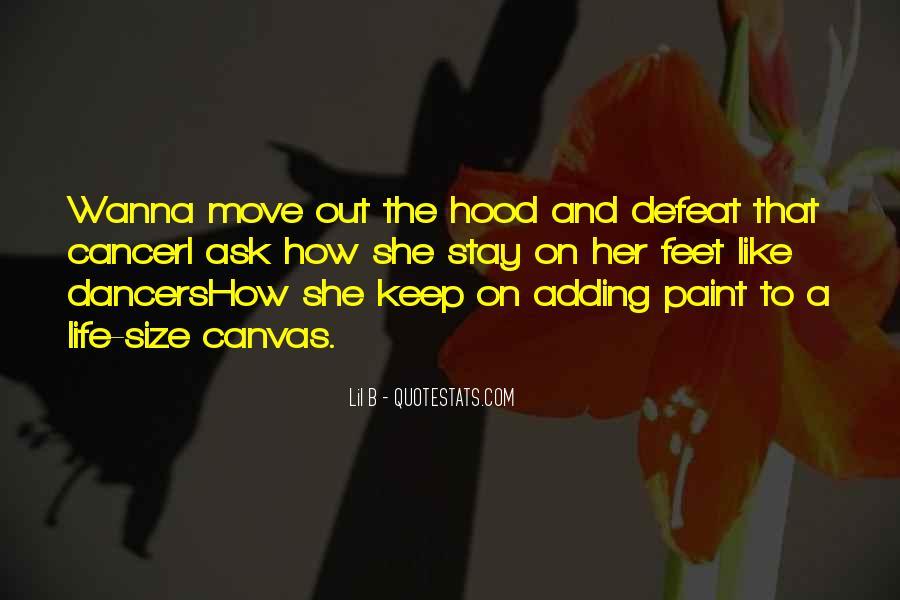 Best Hood Rap Quotes #433063