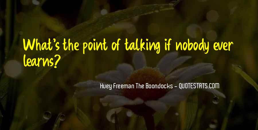 Best Huey Freeman Quotes #1480161