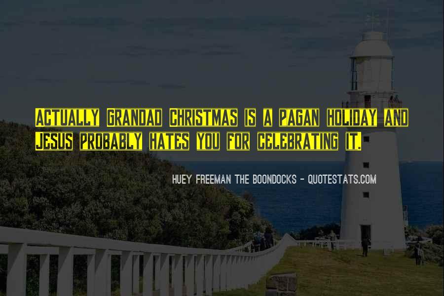 Best Huey Freeman Quotes #86489