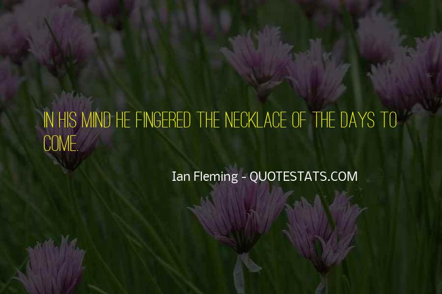 Best Ian Fleming Quotes #147063