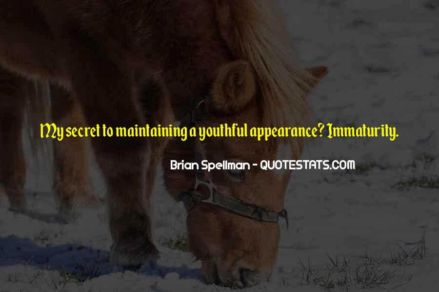 Best Immaturity Quotes #299182