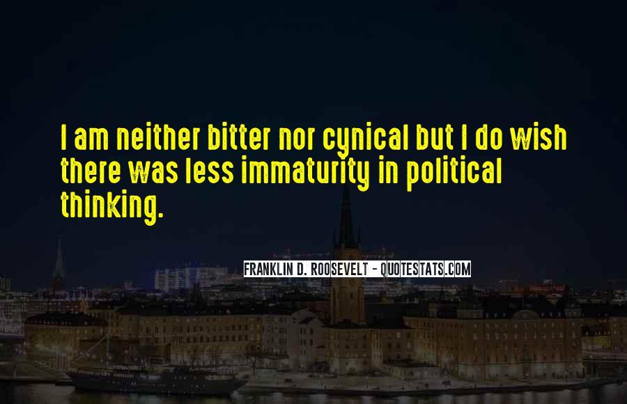 Best Immaturity Quotes #33262