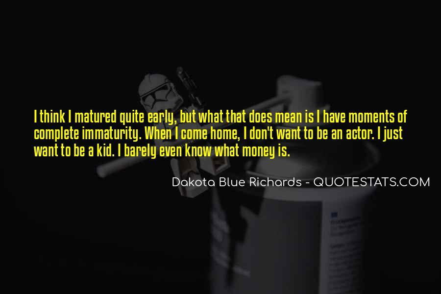 Best Immaturity Quotes #333696