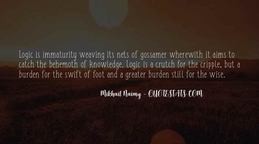 Best Immaturity Quotes #407627
