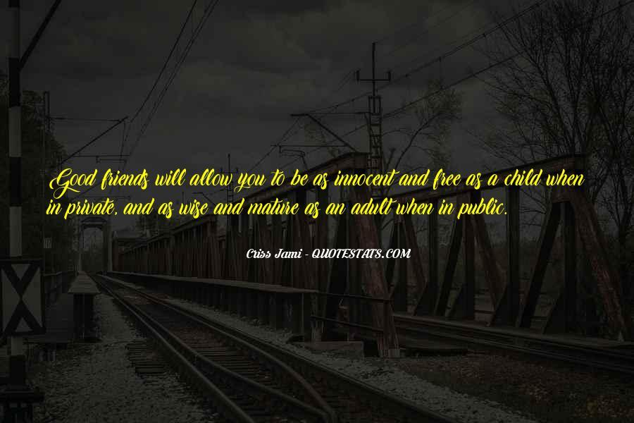 Best Immaturity Quotes #858642