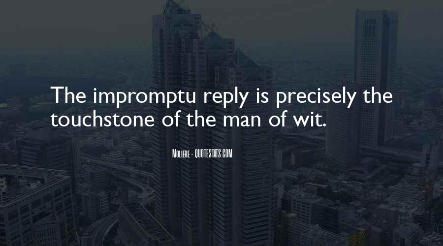Best Impromptu Quotes #991813