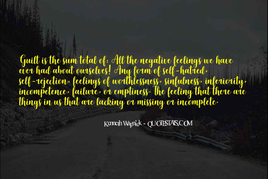 Best Inferiority Quotes #140260