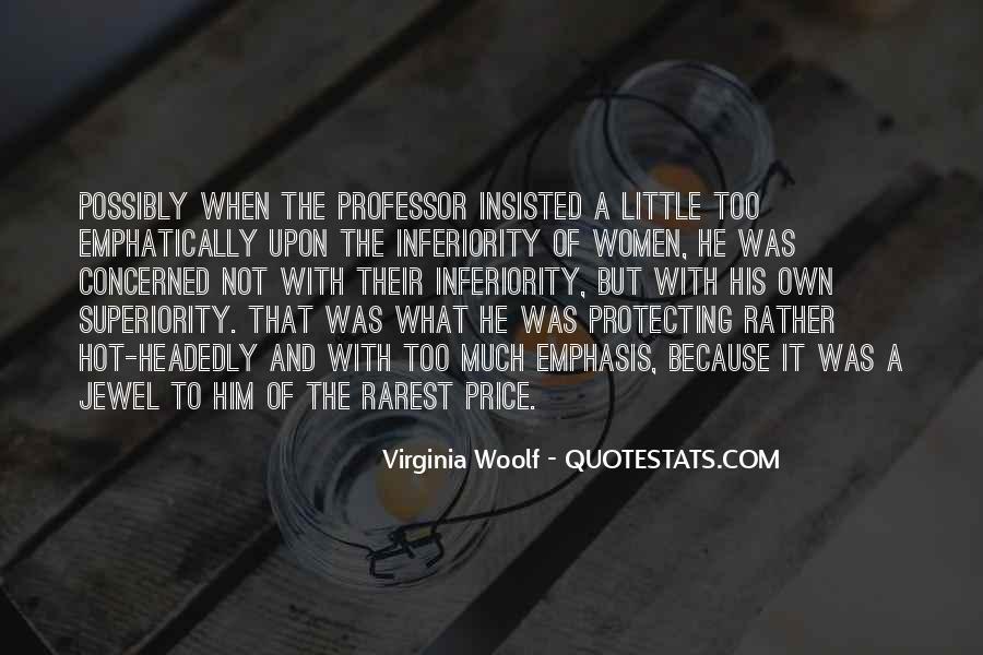 Best Inferiority Quotes #168443