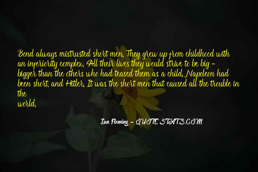 Best Inferiority Quotes #241990
