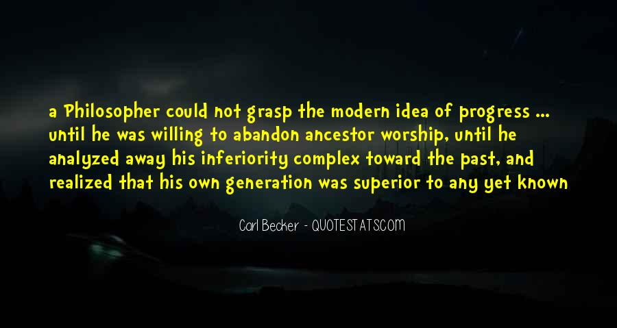 Best Inferiority Quotes #248310