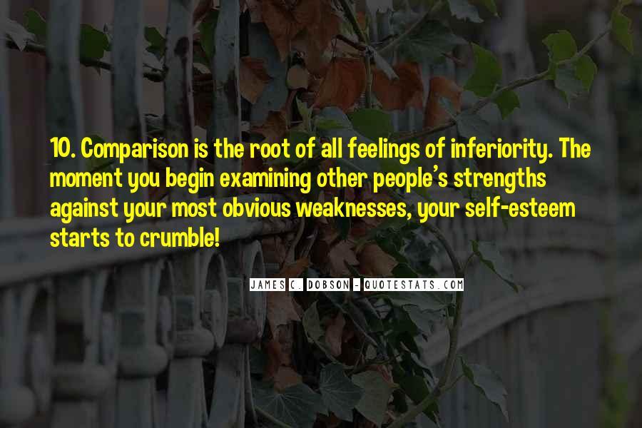 Best Inferiority Quotes #29146