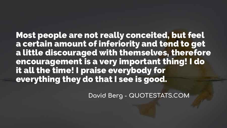 Best Inferiority Quotes #64567