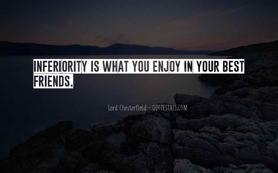 Best Inferiority Quotes #876981