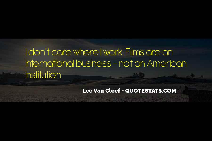 Best International Business Quotes #344875