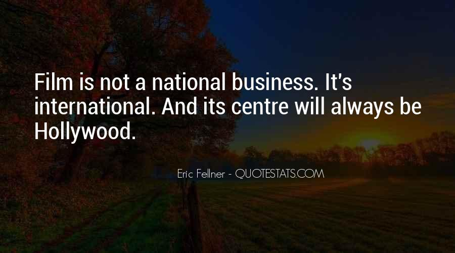 Best International Business Quotes #345726