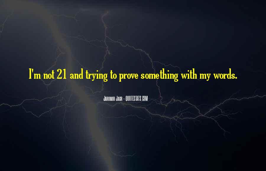 Best Jagr Quotes #1060285