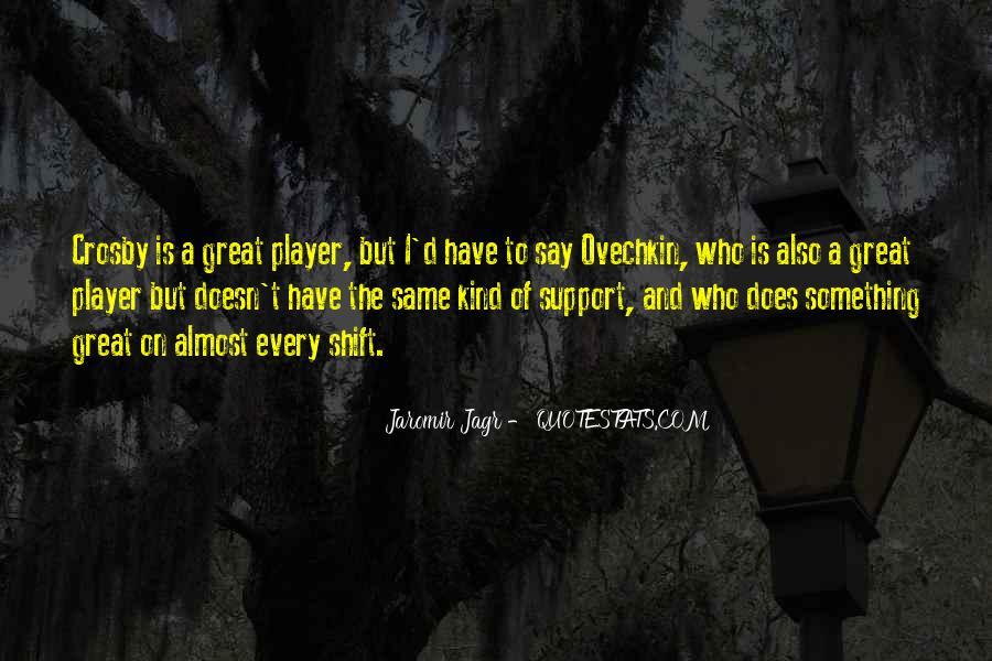 Best Jagr Quotes #1228677