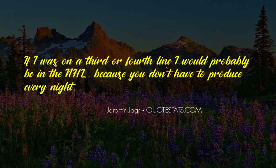 Best Jagr Quotes #1493039