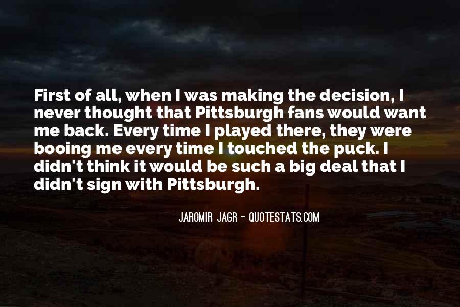 Best Jagr Quotes #64352
