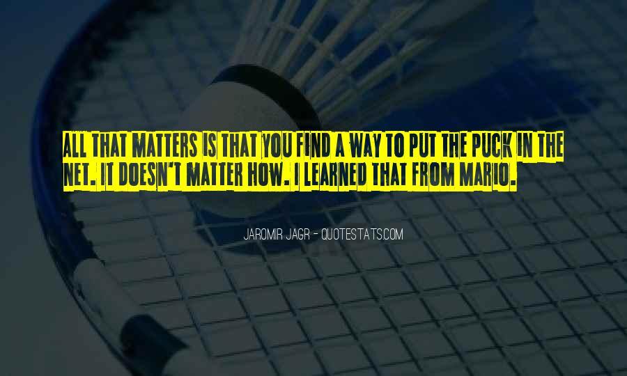 Best Jagr Quotes #688307