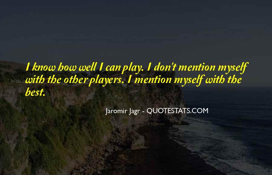 Best Jagr Quotes #771773