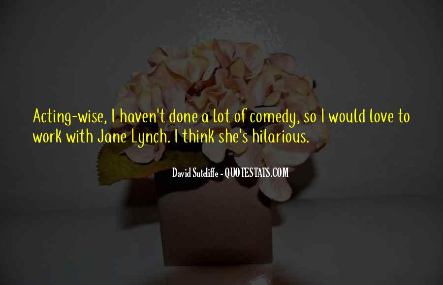 Best Jane Lynch Quotes #500735