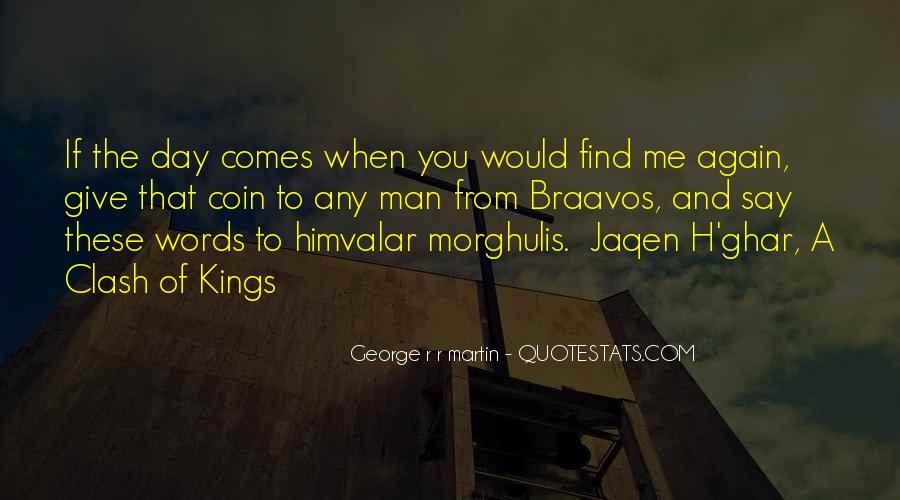 Best Jaqen H'ghar Quotes #65669