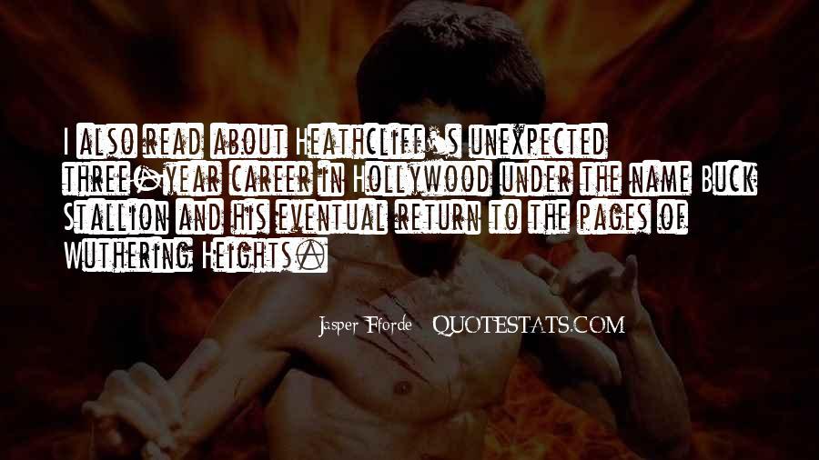 Best Jasper Fforde Quotes #218240