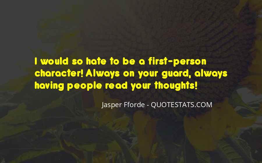 Best Jasper Fforde Quotes #23857