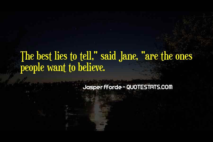 Best Jasper Fforde Quotes #311923