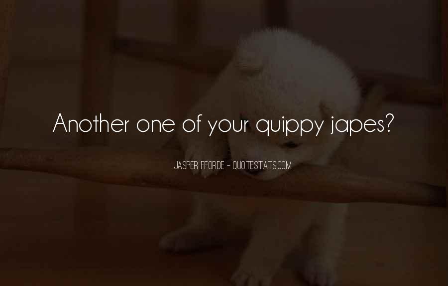 Best Jasper Fforde Quotes #47970