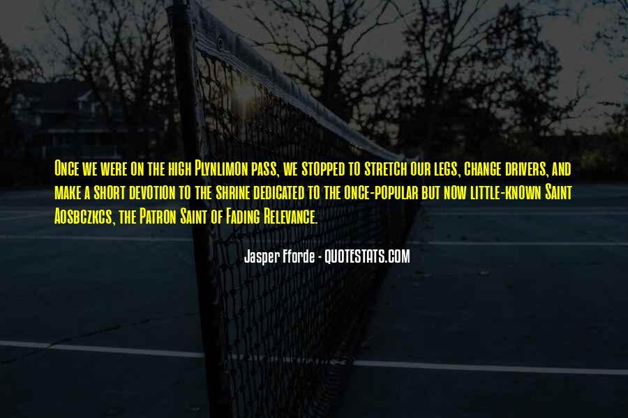 Best Jasper Fforde Quotes #95313