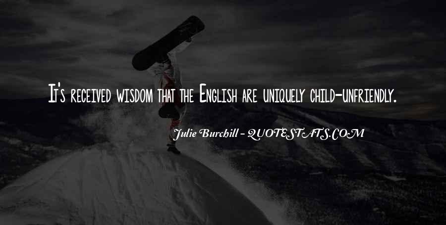 Best Julie Burchill Quotes #435769