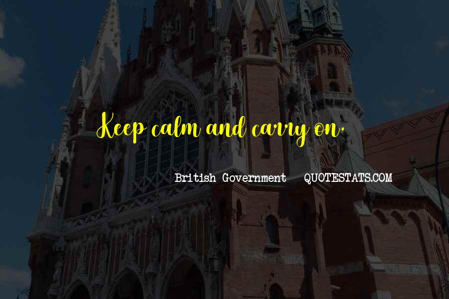 Best Keep Calm And Carry On Quotes #920117