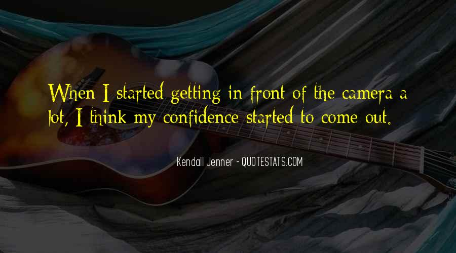 Best Kendall Jenner Quotes #184105
