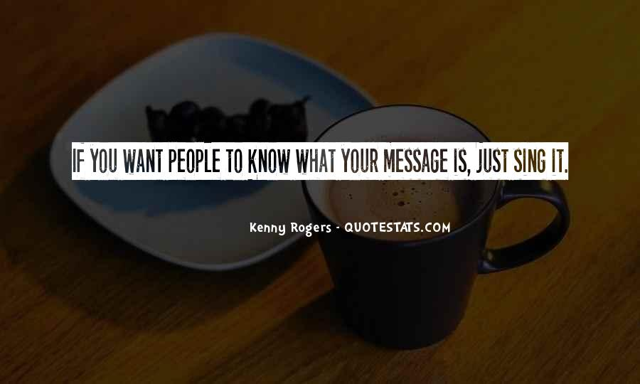 Best Kenny Rogers Quotes #811501