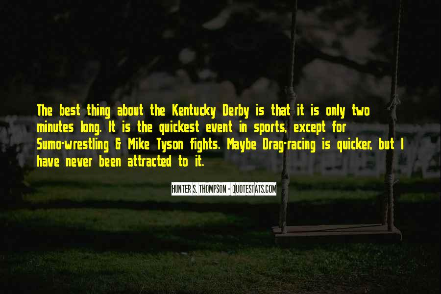 Best Kentucky Derby Quotes #135210