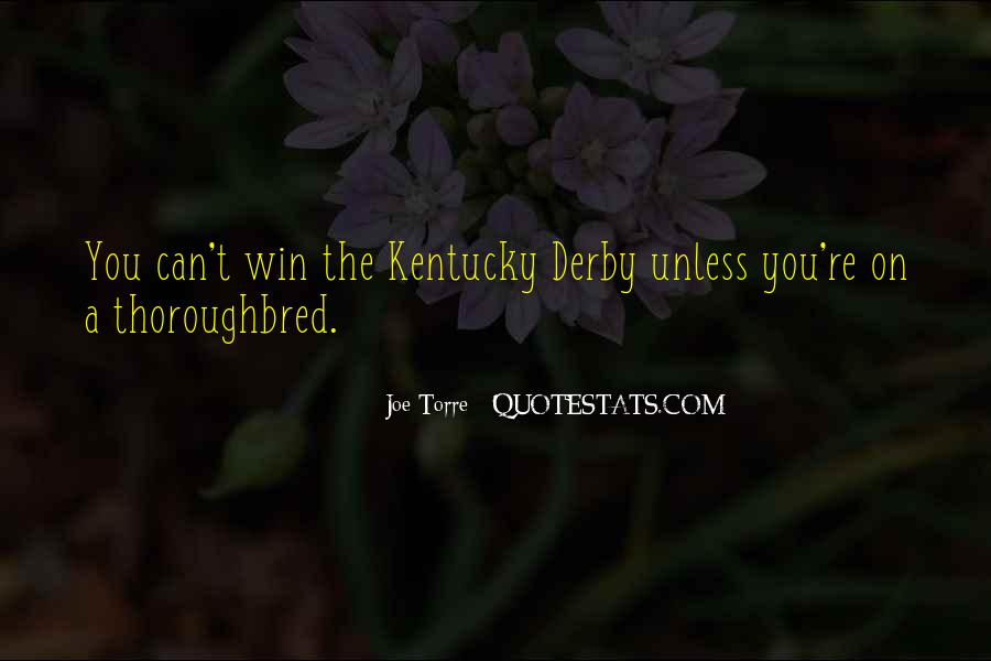Best Kentucky Derby Quotes #1700680