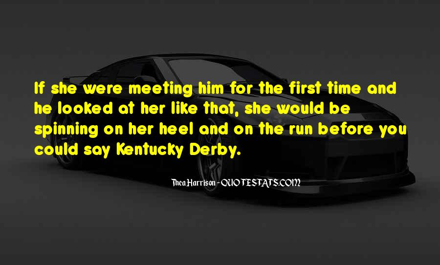 Best Kentucky Derby Quotes #977086