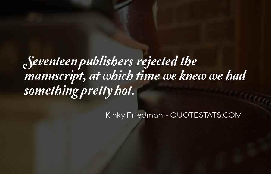 Best Kinky Friedman Quotes #72967